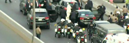 Amérique du Sud : les «malheurs» du pape François en voiture continuent (vidéos)
