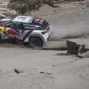 Dakar – Etape 4 : Loeb en leader d'un nouveau triplé Peugeot