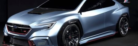 Subaru Viziv Performance STI Concept : vision de la future WRX STI Hybride