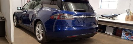 Tesla Model S : une version break fait son apparition