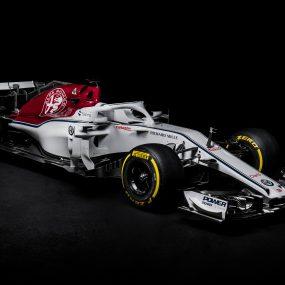 F1 : l'Alfa Romeo Sauber F1 Team présente la C37 2018