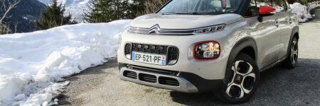 Citroën C3 Aircross : le Grip Control à l'épreuve de la neige