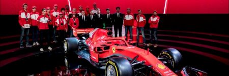 F1 : la Scuderia Ferrari présente la SF71H 2018