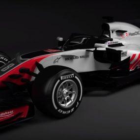 F1 : Haas F1 Team dévoile sa monoplace 2018 à système Halo