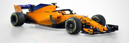 F1 : la McLaren MCL33 2018 au Power Unit Renault se montre