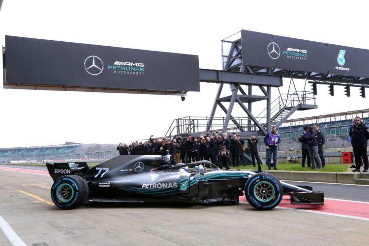 F1 Mercedes Amg Petronas Devoile La W09 Eq Power 2018 Les Voitures