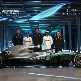 F1 : Mercedes-AMG Petronas dévoile la W09 EQ Power+ 2018