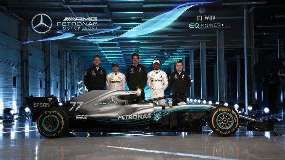 Mercedes-AMG Petronas Motorsport, Launch, F1 W09 EQ Power+Mercedes-AMG Petronas Motorsport, Launch, F1 W09 EQ Power+