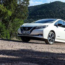 Nissan Leaf : Electrique : 1 / Thermique : 0, essai