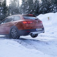 Seat 4Drive : la technologie 4X4 à l'essai en Autriche