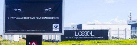 Tunisie : Audi et BMW s'amusent à coups d'affiches