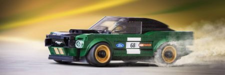 Ford Mustang  : le modèle Fastback 1968 disponible en LEGO