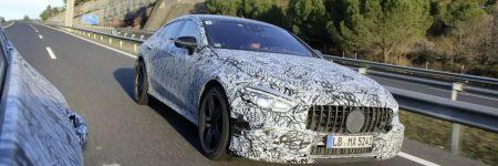 Mercedes-AMG GT Berline : trois premières photos officielles