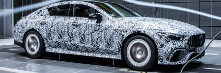 Mercedes-AMG GT Berline : ça se précise grâce à de nouvelles photos