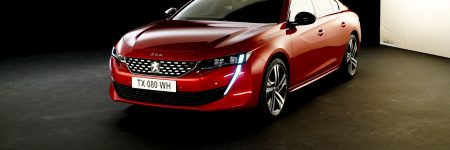 Peugeot 508 : découverte exclusive en studio