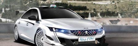 Peugeot 508 : déjà imaginée pour Taxi 6
