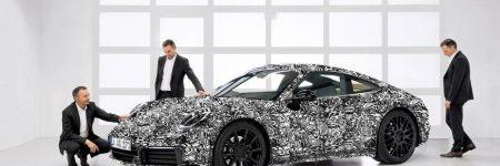 Porsche 911 : les premières photos officielles de la Type 992 2019