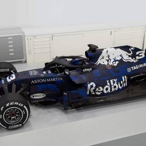 F1 : la RB14 Aston Martin Red Bull Racing est née