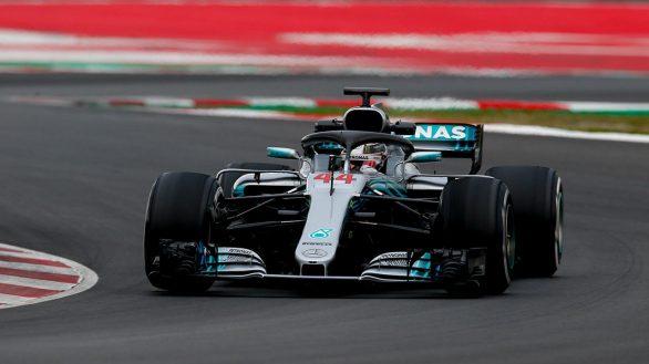 Hamilton-Barcelone-2018-mercedes-F1