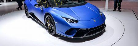 Lamborghini Huracán Performante Spyder : elle brille à Genève