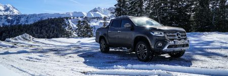 Mercedes-Benz Classe X : «l'étoile des neiges», essai