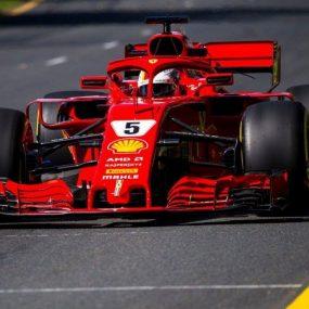 F1 – GP d'Australie : Sebastian Vettel premier vainqueur 2018