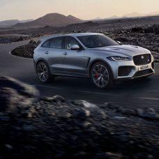 Jaguar F-Pace SVR : un «félin» fort de de 550 chevaux