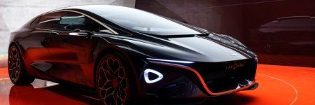 Lagonda Vision Concept : retour électrique et autonome à Genève
