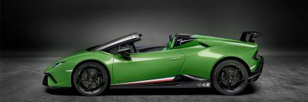 Lamborghini Huracán Performante Spyder : prête pour Genève