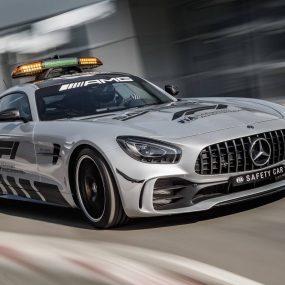 Mercedes-AMG GT R Safety Car F1 : elle encadrera les monoplaces en 2018