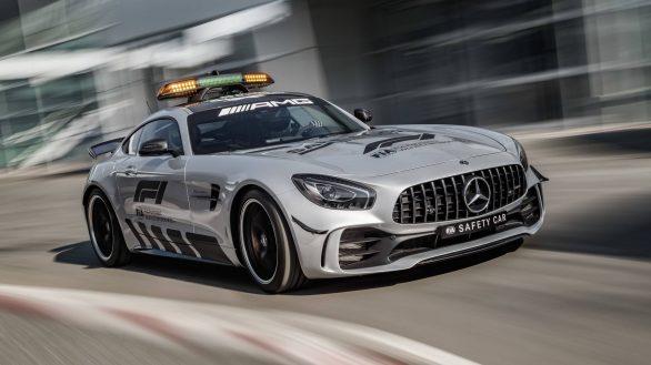 Mercedes-AMG GT R Official F1 Safety Car 2018Mercedes-AMG GT R Official F1 Safety Car 2018
