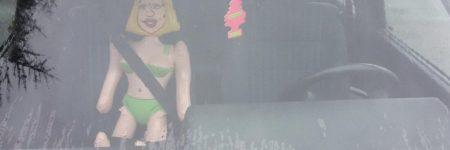 Haute-Saône : les gendarmes contrôlent une poupée gonflable