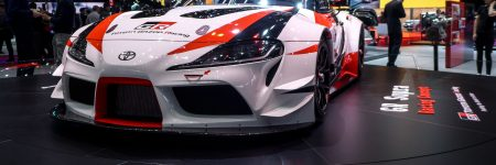 Toyota GR Supra Racing Concept : «en piste» à Genève