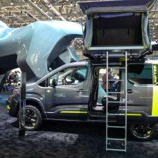 Peugeot Rifter Concept : il «plante sa tente» à Genève