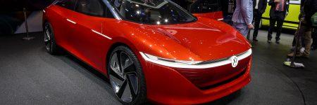 Volkswagen I.D. Vizzion : concept-car sans volant et électrique