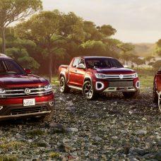 Volkswagen Atlas Cross Sport et Atlas Tanoak : concept-cars de «l'offensive américaine»