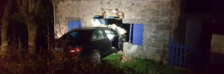 Bretagne : un vol de voiture se termine dans une maison