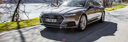 Audi A7 Sportback : le nouveau grand coupé à l'essai en Italie