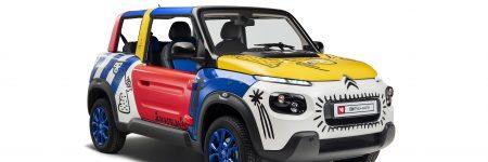 Citroën E-Méhari : une Art Car pour les 50 ans de la mythique «voiture loisirs»