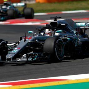 F1 – GP d'Espagne : Hamilton et Mercedes s'imposent sans concurrence