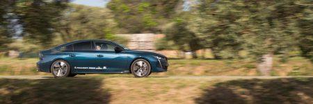 Peugeot 508 : les photos de la nouvelle berline sur le Tour Auto