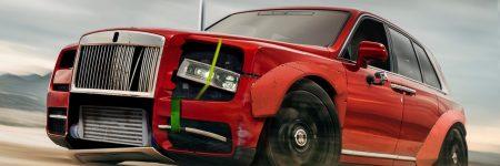 Rolls Royce Cullinan : le SUV détourné en mode «Drift «
