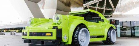 Porsche : une 911 Turbo 3.0 grandeur nature en LEGO au Porsche Museum