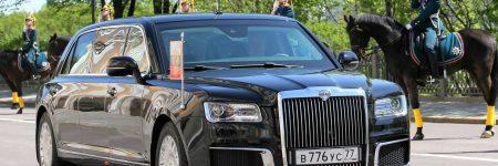 Russie : Vladimir Poutine sort sa nouvelle limousine Aurus Senat (vidéo)