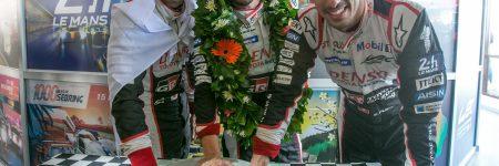 24 Heures du Mans : exclusivité, les empreintes des pilotes Toyota (vidéo)