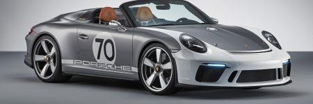 Porsche 911 Speedster Concept : fabuleux cadeau d'anniversaire