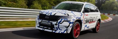 Škoda Kodiaq RS : premier record d'un SUV 7 places sur le Nürburgring