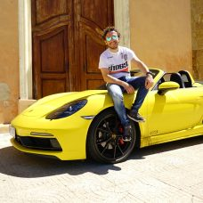 Porsche 718 Boxster GTS : essai à l'italienne avec le Chef Simone Zanoni