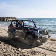 Italie : une Jeep Wrangler très spéciale pour la police des plages
