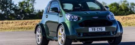 Aston Martin Cygnet : une folle version V8 de 436 chevaux